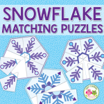 snowflake matching puzzles