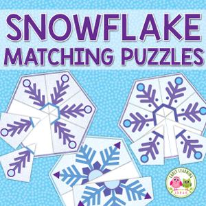 snowflake matching puzles