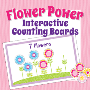 Flower-Interactive-Counting-Boards