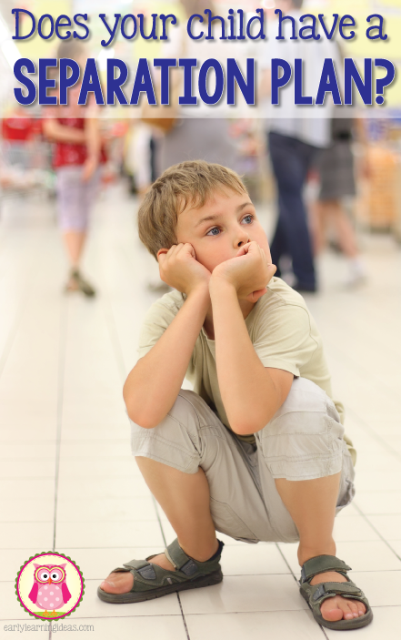 Does your child know who to turn to for help when he or she is lost? It's a great idea to work out a separation plan with your child. Learn how to point out helpers for your child in public places so that he or she knows who to go to if lost.