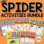 spider learning activities for preschool and pre-k