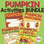 pumpkins activities bundle