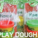 Holiday Play Dough Mats [Free Printable Mini Mats & Gift Tags]