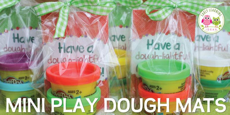Christmas Play Dough Mats: A Holiday Gift for Kids [free printable]