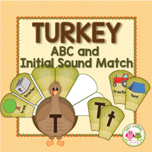thanksgiving alphabet activities for preschool and pre-k
