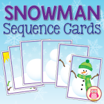 snowman-sequencing-cards-by Jennifer Hier at Early Learning Ideas