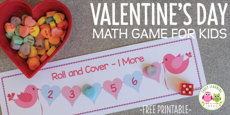 Valentine's Day Game for Kids [Free Printable]