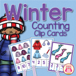 Winter themed multi-sensory counting fun for preschool, pre-k, and early childhood education.