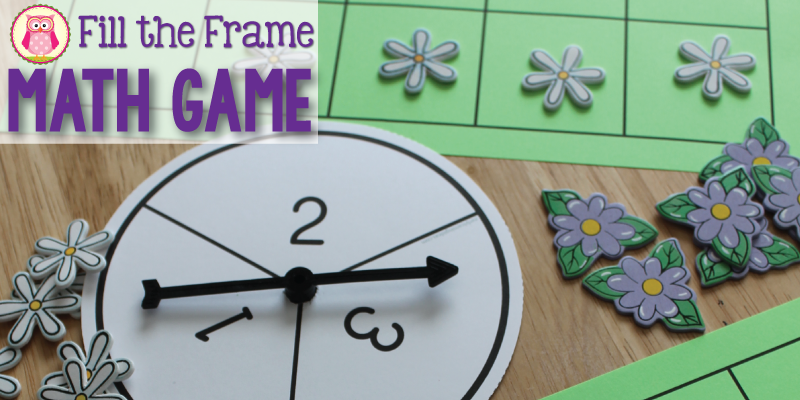 Using ten frames games and activities with preschool, pre-k an kindergarten children is a great way to work on early math concepts