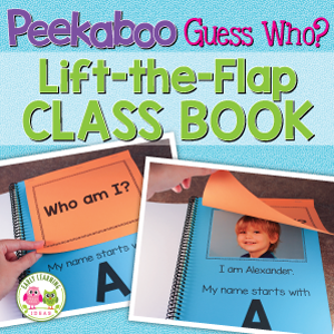 alphabet lift the flap name books