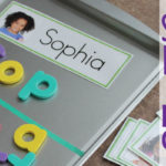 Sorting Letters with Name Cards