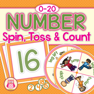 Number-spin-toss-and-count-game-