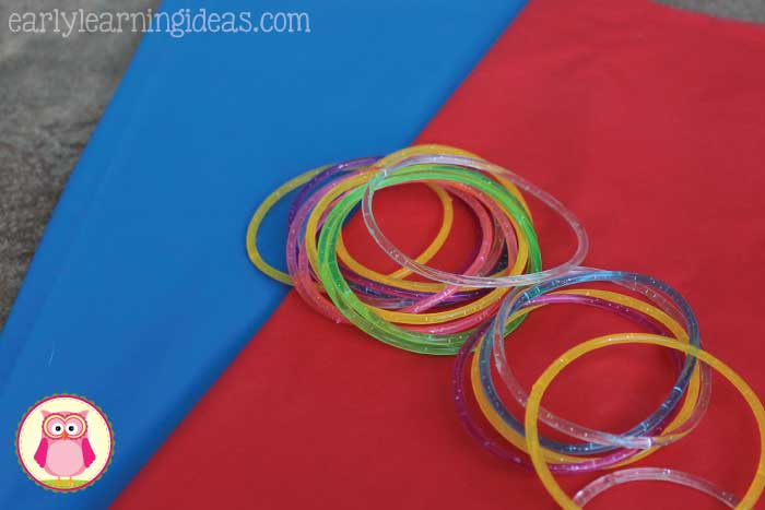 Ribbon rings are easy and inexpensive to make...and they are just plain fun to use. Use them for a special birthday song during classroom circle time, to create shapes, letters, or numbers in the air, to emphasize syllables in words or names. You can also use them for parties, celebrations, parades or just for a good old fashioned dance party for kids in preschool, pre-k, kindergarten, and early childhood elementary.
