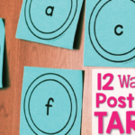 12 Ideas for Post-it Note Activities