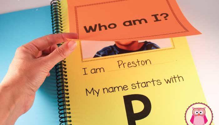 Name Activities for Your Preschooler