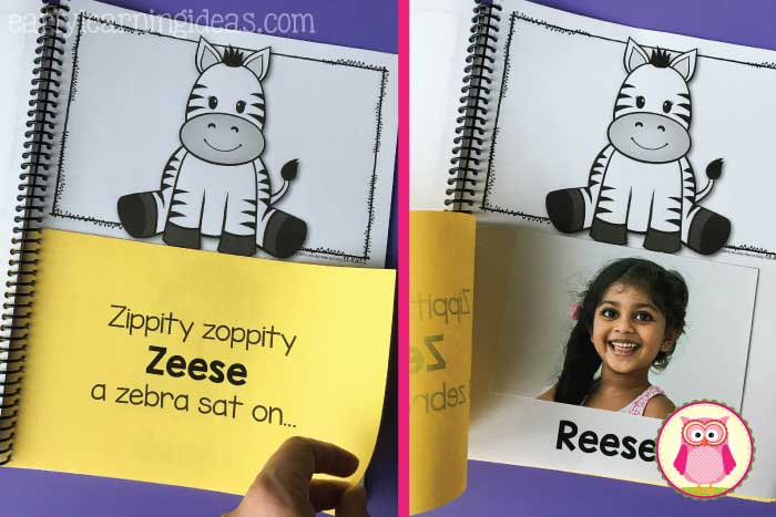 Kids are excited when activities, songs, rhymes, and books are all about them, so name activities are always a hit. Here is a big list of name activity ideas.