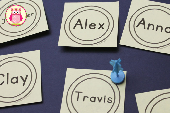 12 + engaging Post-it note activities to help young kids learn concepts from ABC's, sight words, numbers, to names. Perfect for preschool, pre-k, and kindergarten. Includes link to free editable template so you can create your own targets.