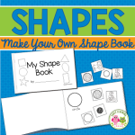 make your own shape book activity for preschool,pre-k and kindergarten