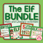 elf activity bundle for early childhood