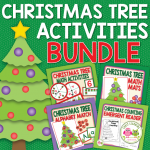 Christmas tree activities for preschool and pre-k