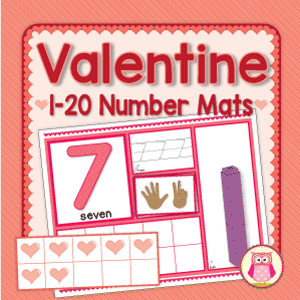 valentine number activity