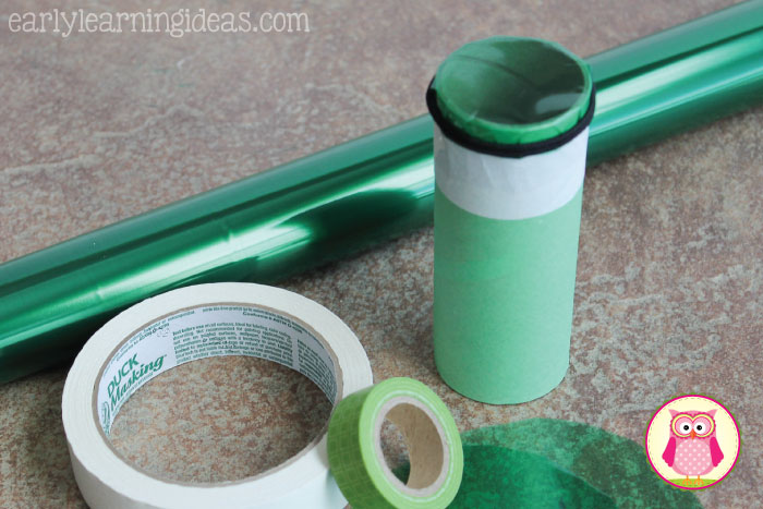 Help kids explore color by creating these color tubes.  The prep is easy.  Kids can decorate them to create their own little work of art  This is more than a preschool arts and crafts project.... there are also many ideas for color mixing, graphing, and other hands on learning activities.  This will be fun for preschool, pre-k, kindergarten, and prep and a perfect addition to your unit on the five senses and colors.