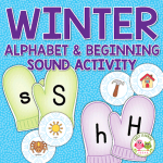mitten alphabet and beginning sound activithy