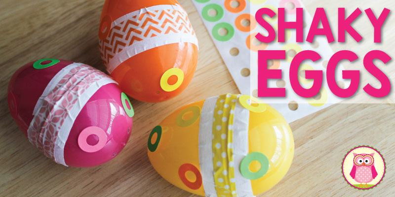 Fun Arts and Crafts for Kids:  How to Make a Shaky Egg