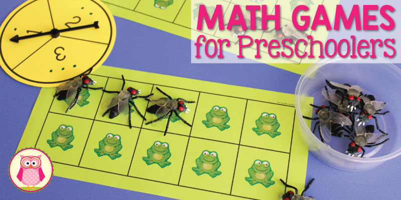 Math Games for Preschoolers:  A Ten Frame Game That Kids Love to Play [Free Printable]