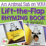 lift the flap rhyming name book