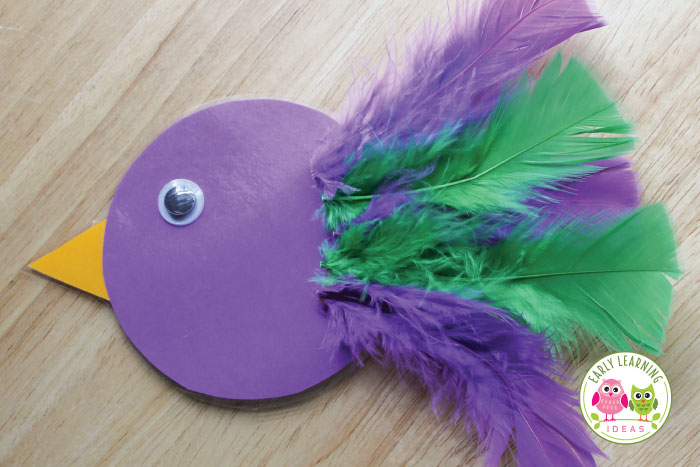With a few materials you can make this bird color sorting and counting activity. Kids will love this hands-on math and fine motor activity. Teach colors, counting, composing and decomposing numbers, patterning and more.....Instructions and ideas included. Perfect for preschool, pre-k, and tot school.