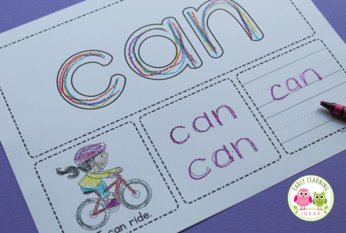 sight-word-activity-mats-black-and-white