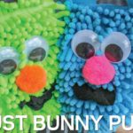 Rhyming Activities with DIY Dust Bunny Puppets