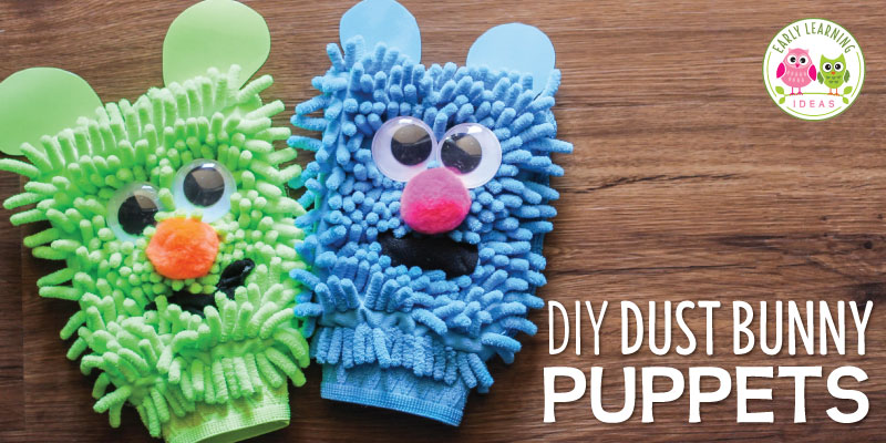 Make these silly rhyming puppets and use them for rhyming activities. Your kids will have so much fun that they won't realize they are learning. Perfect for literacy centers, ELA centers or literacy work stations, circle time, large group activities, and small group activities. Teach rhyming to kids in preschool, pre-k, kindergarten, TK, SPED, RTI. Tutorial, activity and game ideas are included. This is a perfect activity to use with the Rhyming Dust Bunnies book.
