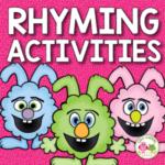 rhyming rabbit activities for preschool, pre-k, and kindergarten