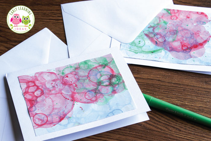 Art Activities For Kids Painting With Bubbles Early