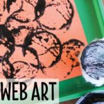 Art Activities with Spider Webs