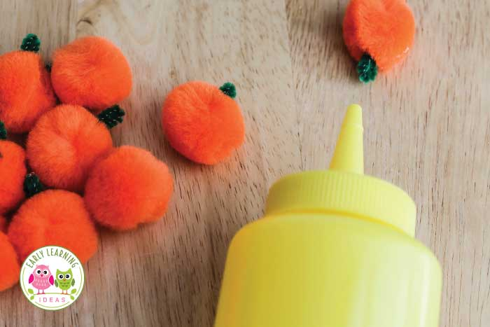 Here are 7 fun and exciting fine motor activities for fall. Perfect Halloween, pumpkin, and Autumn fine motor activities for kids in preschool, pre-k, tot school and kindergarten.