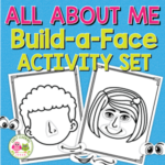all about me build a face activity set