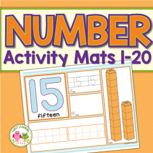 number and counting activity mats