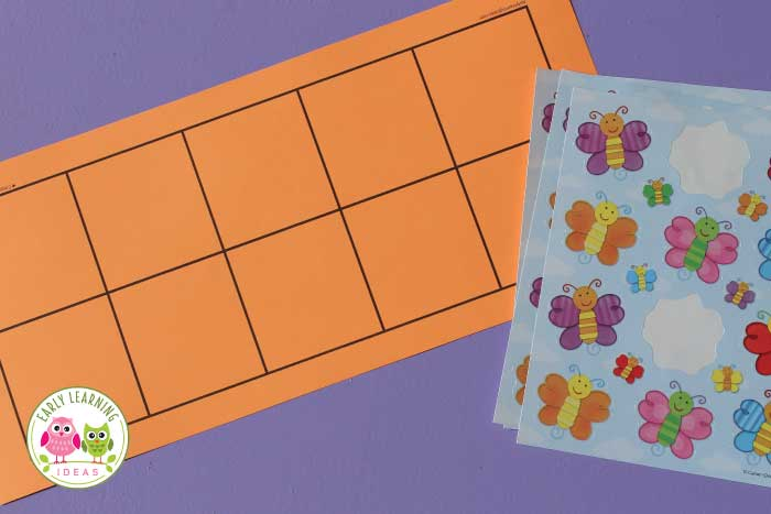 Download these math free printables to create one-to-one correspondence activities for your kids.   Ideas to customize the five and ten frames are included. This is fun for math centers in preschool and pre-k. The counting activity can be customized for any theme or lesson plans (from back to school, Dr. Seuss, or animals) and fall, winter, spring.. any season. Use with pom poms, play dough, mini erasers, etc. your kids will love these fun, Meaningful, hands-on ideas for early math learning.