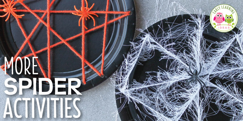 More Spider Activities for Kids