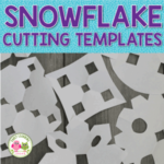 snowflake cutting templates or patterns