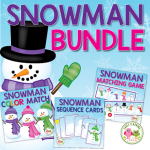 snowman activity bundle