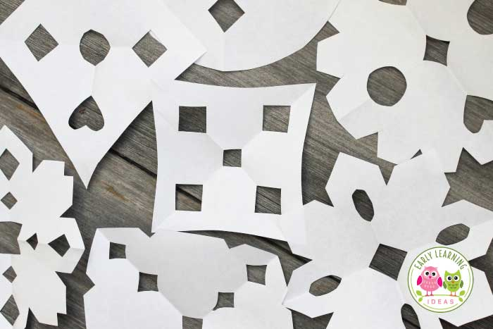 The Best Way To Teach Kids To Make Paper Snowflakes Early Learning