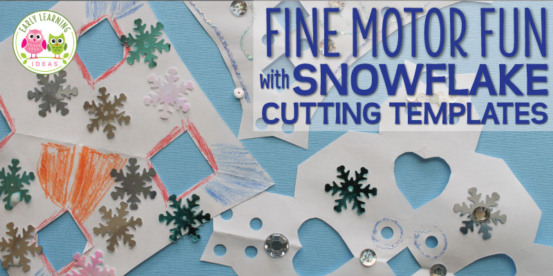 Making Snowflakes:  More Ideas for Using Snowflake Cutting Templates