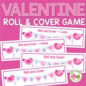 the roll cover valentines day math game is listed as a freebie in my tpt store while you are there be sure to follow me so that you can get updates