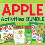 apple activities for preschool and pre-k