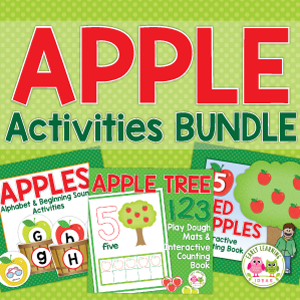 apple activities for preschool and pre-k