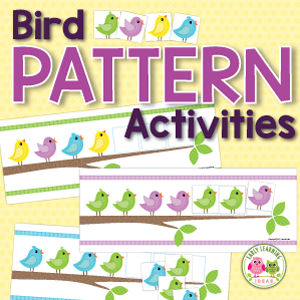 birds patternning activities